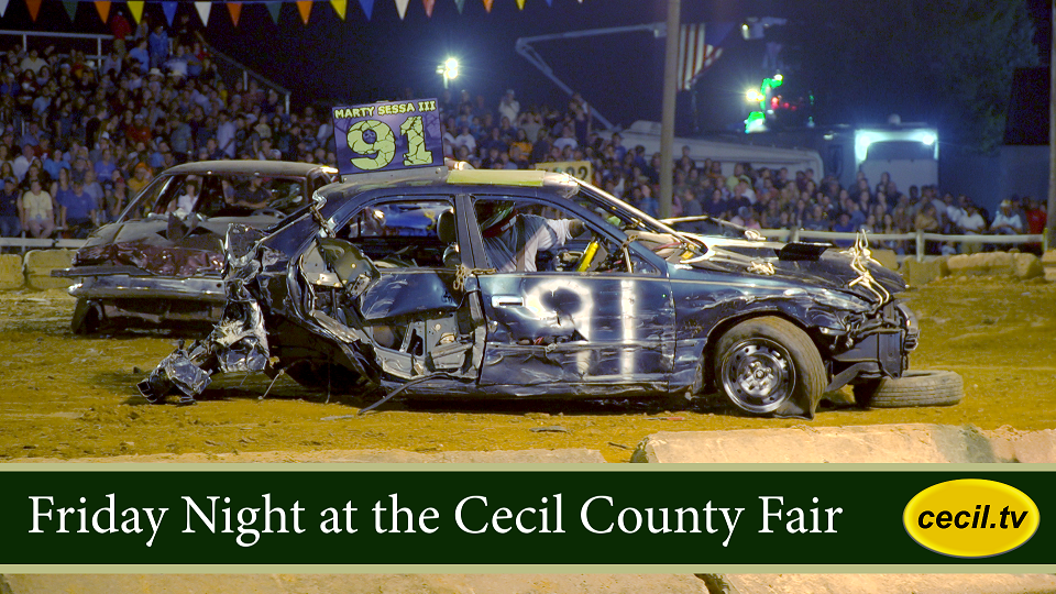 Friday Night at the Cecil County Fair